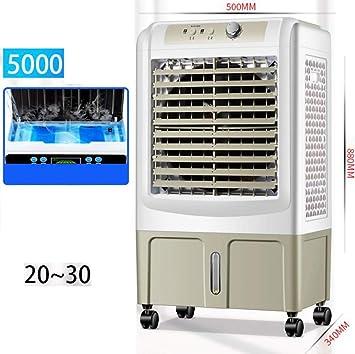FFENGG Climatizador Frío Fresh Essence, Ventilador de Torre con Aromatización del Aire, 3 Velocidades, Función Frío, Oscilación 120º, Bajo Consumo. Climatizador Evaporativo sin Tubo: Amazon.es: Deportes y aire libre