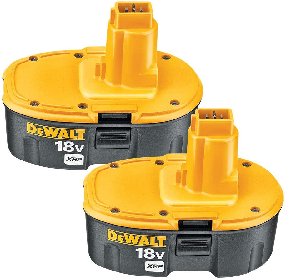 Dewalt 18v Battery Xrp Combo Pack Dc9096 2 Cordless Tool Battery Packs Amazon Com