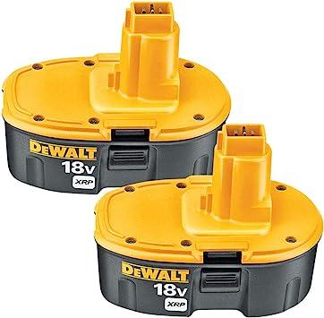 2Pack for Dewalt DC9096-2 18V 18Volt XRP Battery DC9098 DC9099 DW9096 DW9095 NEW