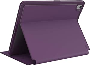 Speck Products Presidio PRO Folio 12.9-inch iPad Pro Case (2018), Argyle Purple/Eggplant Purple
