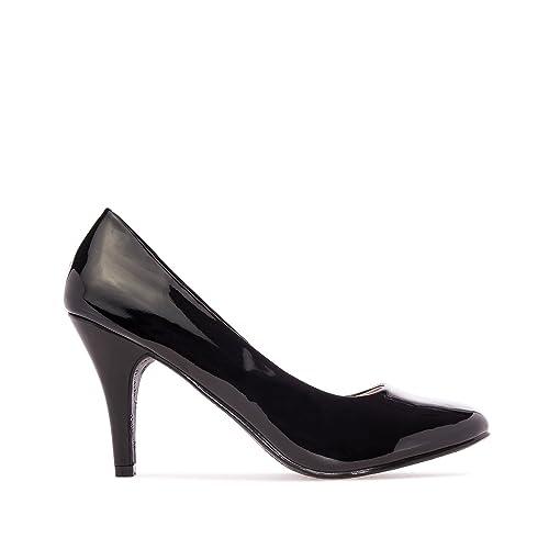 c5add66f Salón Clásico en Diferentes Materiales y Colores. para Mujer.Todas Las  Tallas de la 32 a la 45.: Amazon.es: Zapatos y complementos