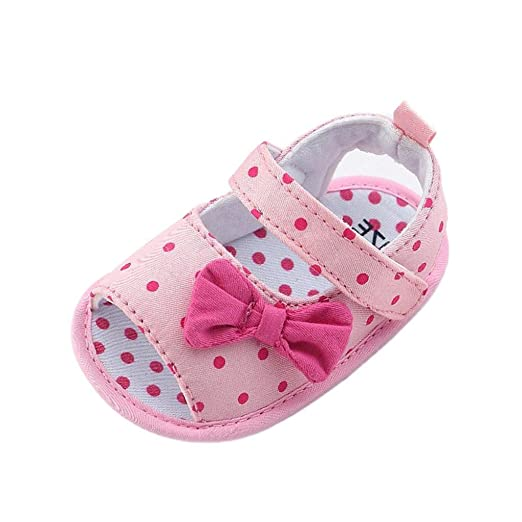 Zapatos Bebé prewalker verano Xinantime Sandalias bebé Niña Bebé Zapatos Princesa Bowknot - Zapatos de vestir