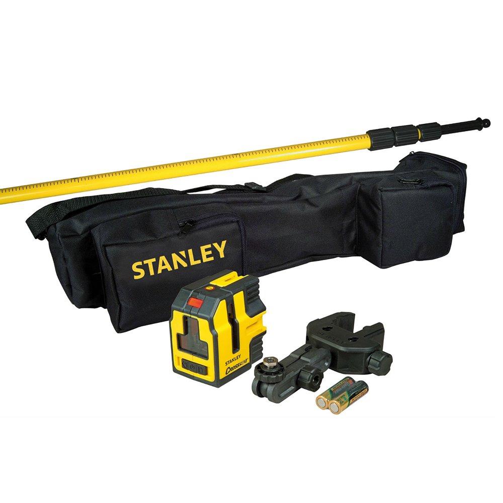 Niveau laser croix et é querrage cross90 + canne - Stanley - 177147 STHT1-77147