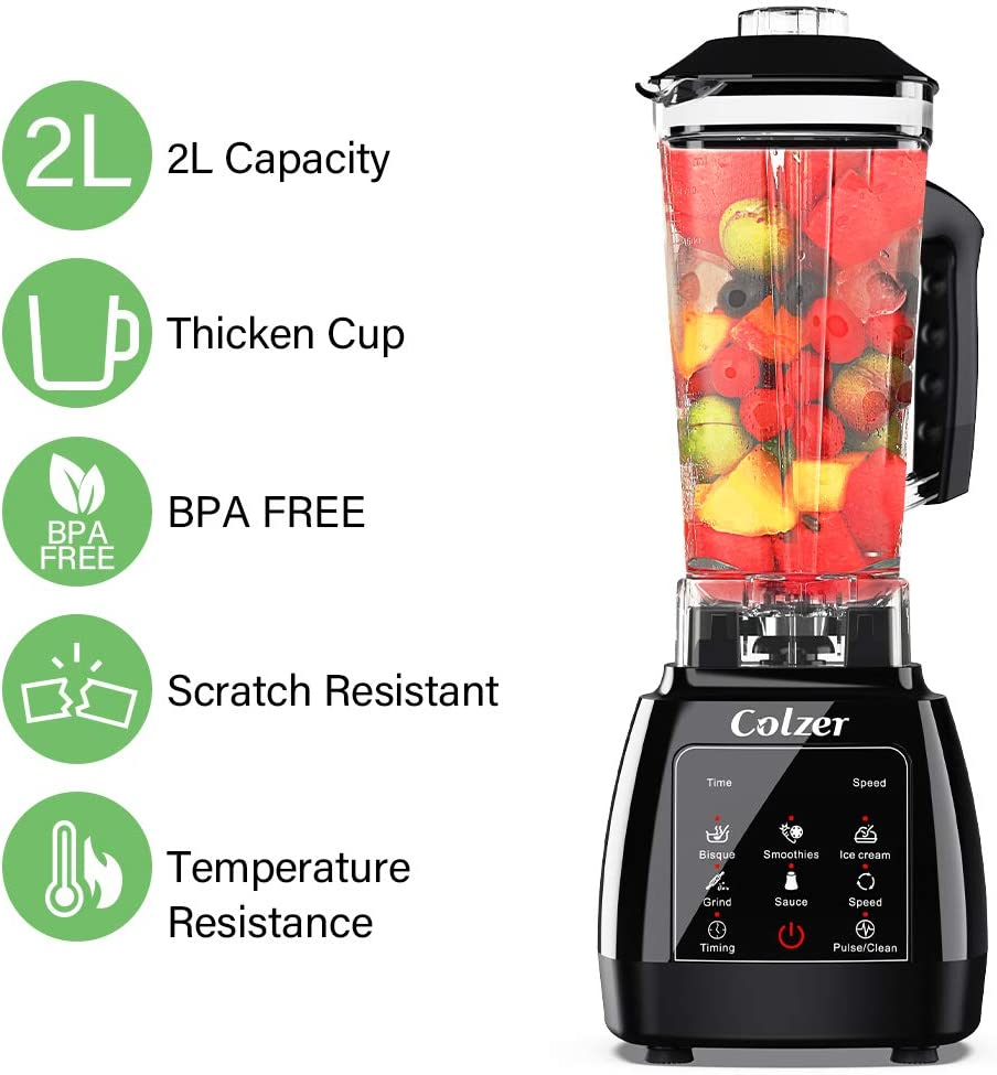 Small Appliances COLZER Blender for Shakes and Smoothies ...