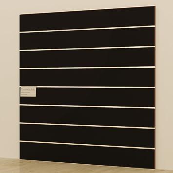 Panels DOGATO 120 x 120 cm schwarz Möbel Shop Begehbarer ...