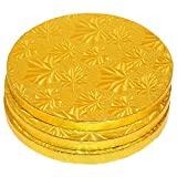 Best Juvale Cake Stands - Cake Boards Rounds - 3 Piece Gold Foil Review