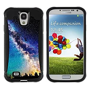 iArmor Hybrid Anti-Shock Defend case cover / Orions Belt Beautiful Stars Space / Samsung Galaxy 3Lyq0grca7R S4