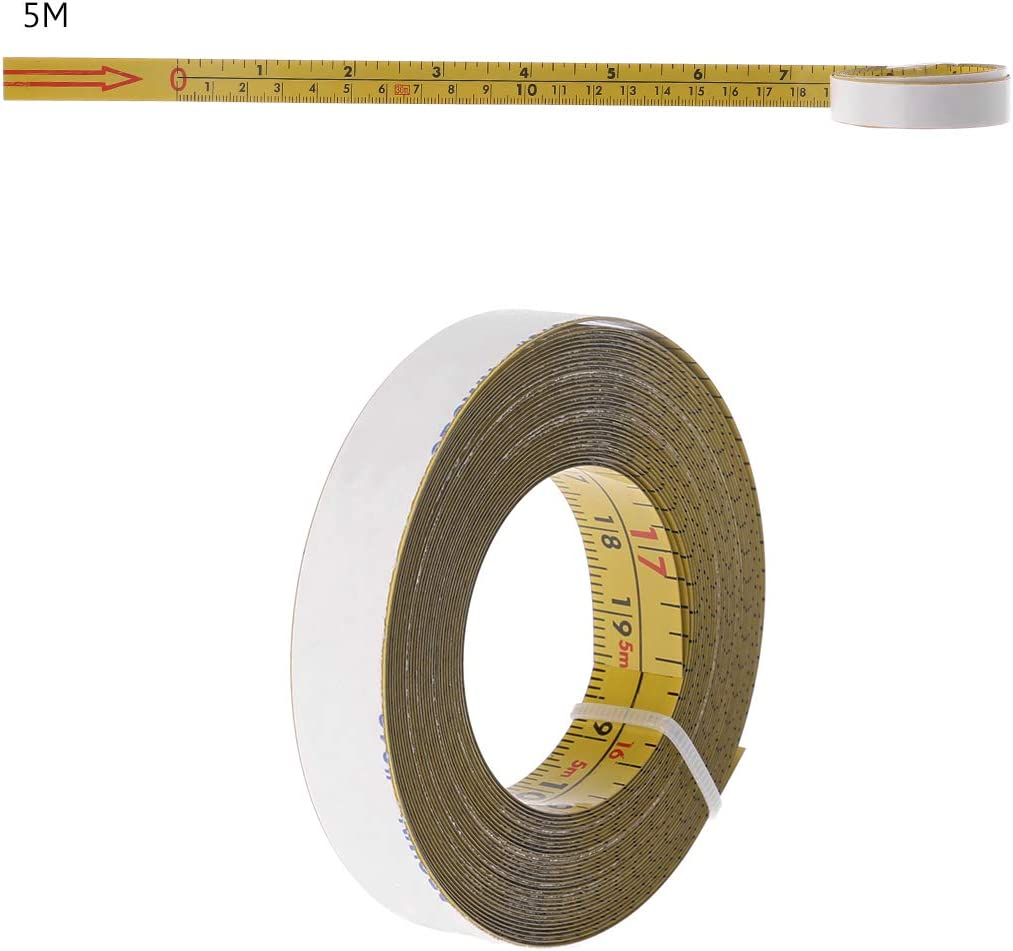 0.0625 Graduation Interval Starrett Measure Stix SM66W Steel White Measure Tape with Adhesive Backing 0.75 Width 6 Length English Graduation Style Left To Right Reading
