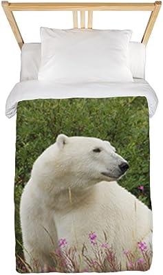 Twin Duvet Cover Polar Bear on Canadian Tundra