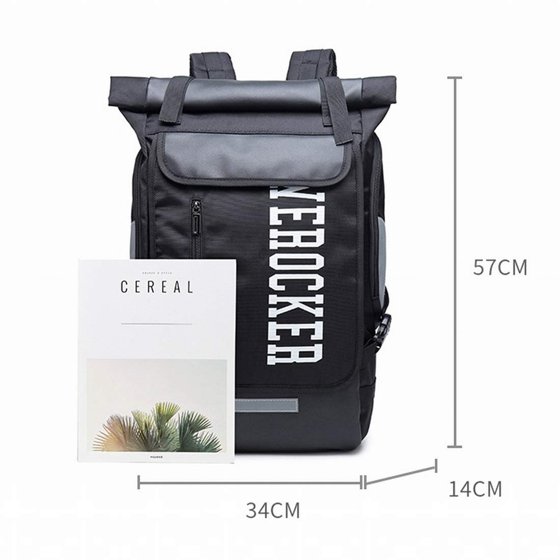 Souliyan Men Sports Fitness Training Backpack Leisure Travel Bag