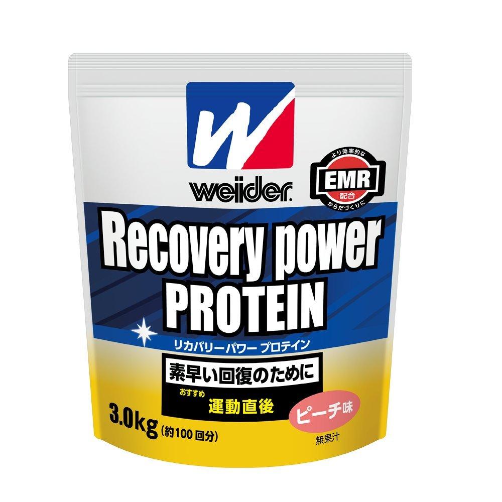 ウイダー リカバリーパワープロテイン ピーチ味 3.0kg B00510YA3W   3.0kg
