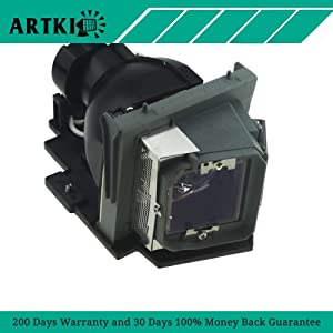 4210X Replacement Lamp for Dell 4210X 4310WX 4610X Projector with Housing by Artki