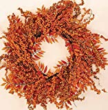 Worth Imports Fall Berry Fern Wreath, 18''