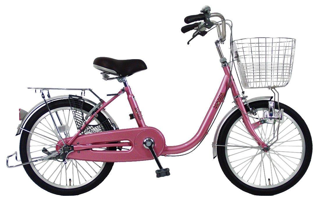 C.Dream(シードリーム) ヴェロアミニ VL01 20インチ自転車 ミニサイクル ピンク 100%組立済み発送 B078V2VGYK