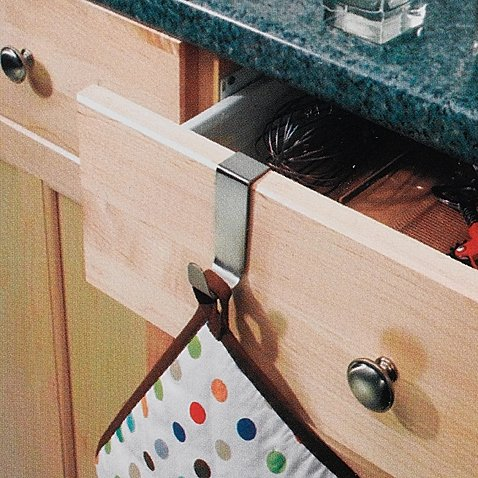 [InterDesign Forma Over-the-Cabinet Single Hook] (But Mommy Costumes)