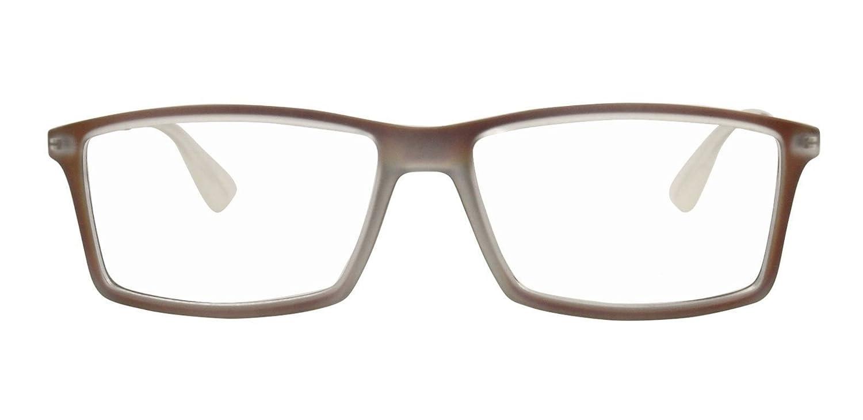 eb0ad6108d Amazon.com  Ray-Ban RX7021 - 5497 Matthew Eyeglasses Rubber Havana 55mm   Clothing
