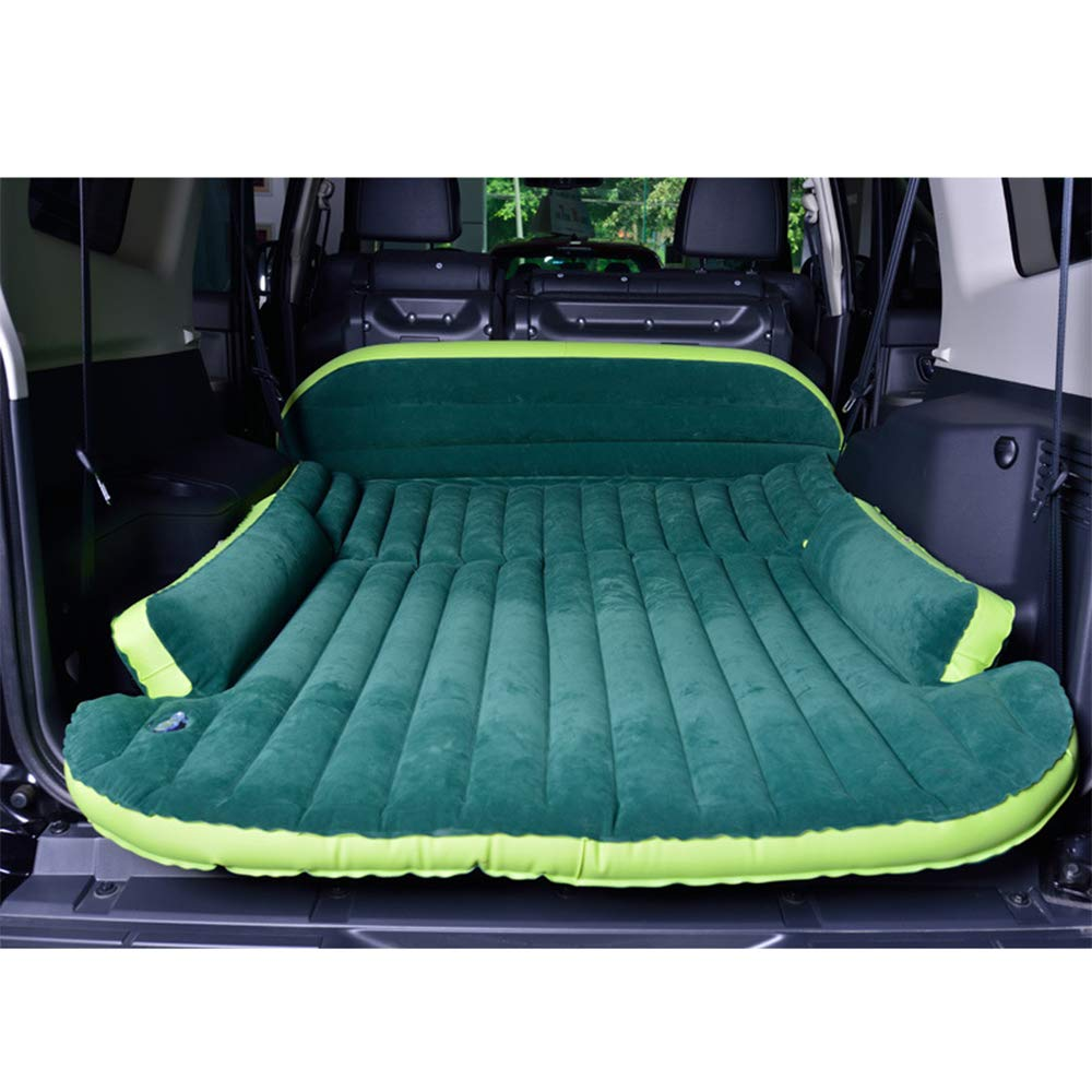 LH SUV Inflatable Matratzenwagen Luftbett mit Luftpumpe, Upgraded Version Air Bett für Automatress-Inflattierungsbett für Reisen