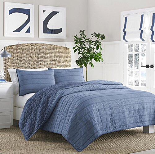 Nautica Buchanon Quilt, Full/Queen, Blue