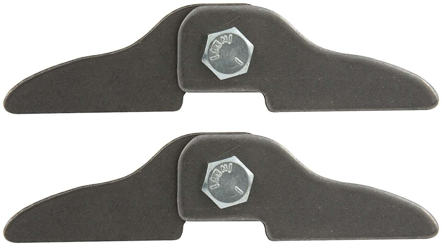 Allstar ALL60040-25 0.085'' Thick 1'' Tall x 4'' Long Header Tab Kit, (Pack of 25)