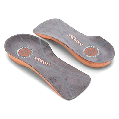 451b88a3d0 Orthaheel Unisex Relief 3/4 Length Orthotic Insoles: Amazon.co.uk: Shoes &  Bags