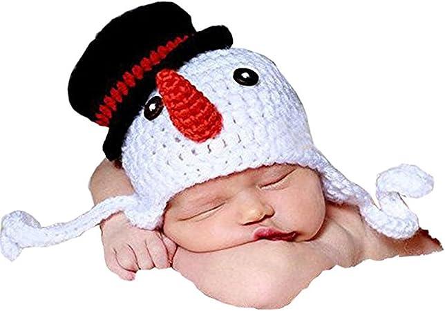 OULII Recién nacido fotografía foto Prop Crochet tejido Crochet ...