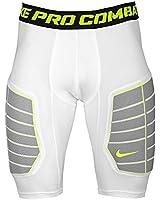 Nike Pro Combat Hyperstrong Elite Men's Compression Basketball Shorts 3XL White