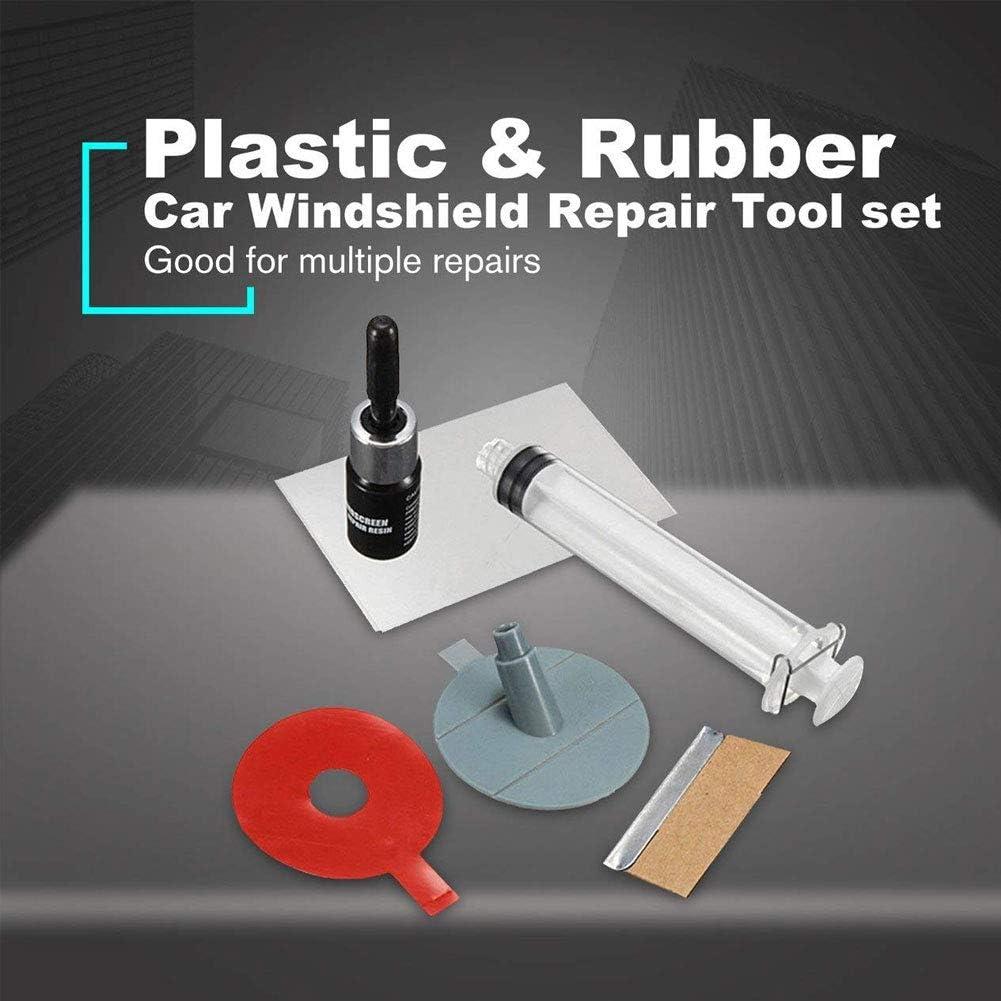 Apofly 1 Set Auto Windschutzscheibe Reparatur-Werkzeuge Glas Scratch Crack Wiederherstellen Fenster Glas Reparatur Fl/üSsigkeit Auto Notfall-Werkzeuge