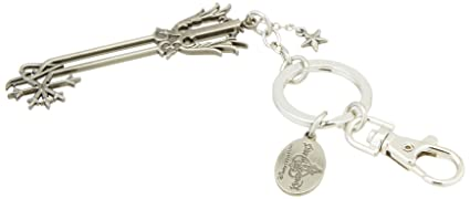 Disney Kingdom Hearts Oathkeeper Blade Pewter Key Ring