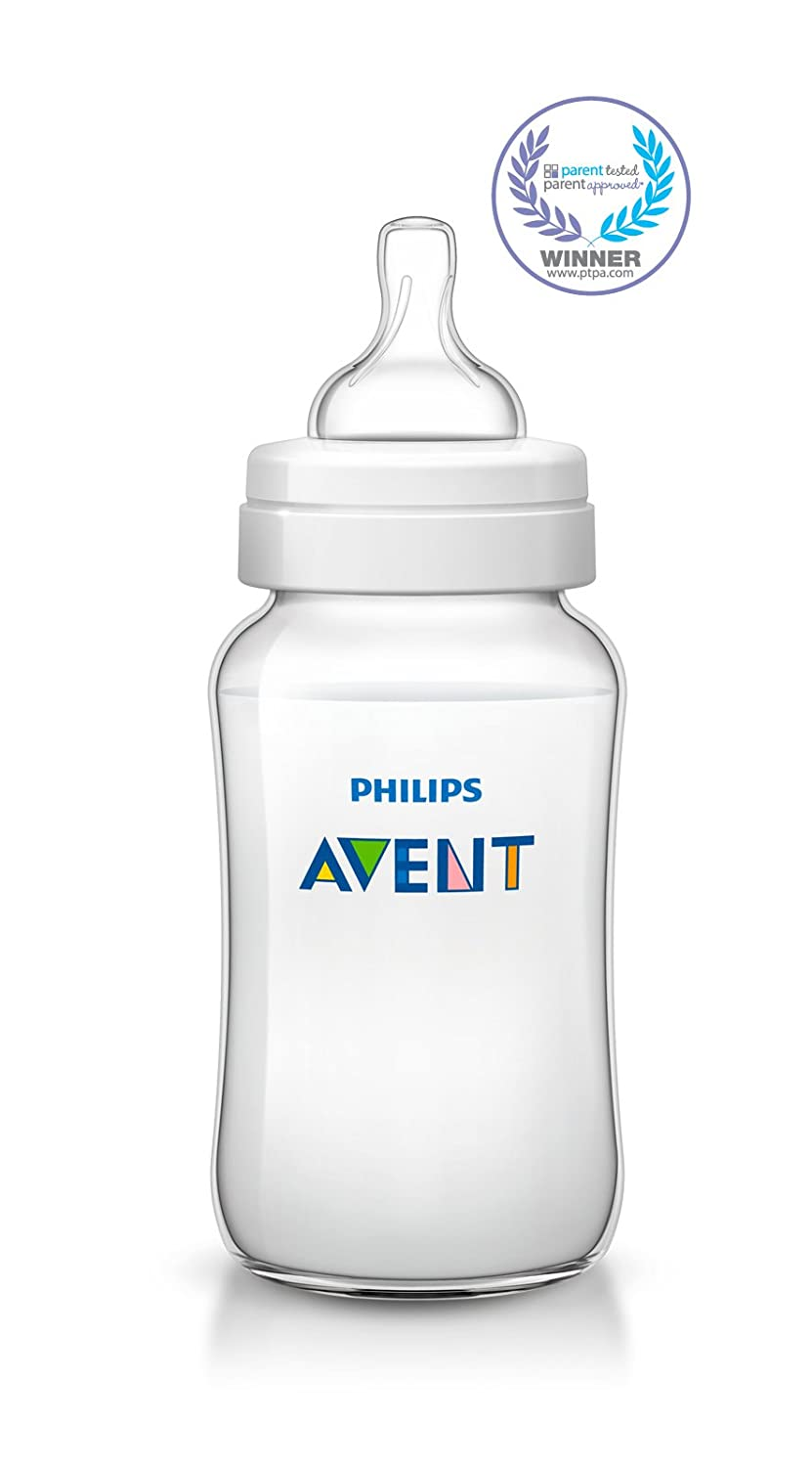 Philips Avent Anti-Colic Baby Bottles Clear 5 Piece 4oz
