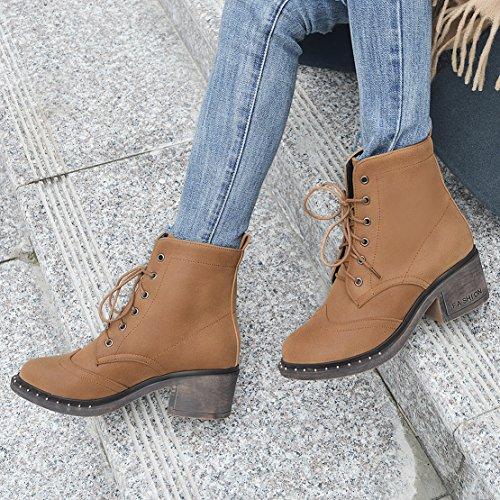 Women's Women's AIYOUMEI Classic Women's AIYOUMEI Brown Classic Brown Boot Boot Brown Boot Classic AIYOUMEI gwYRU