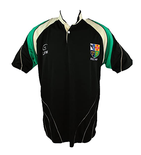 Irlanda 4 Provincias Transpirable Camiseta De Rugby: Amazon.es ...