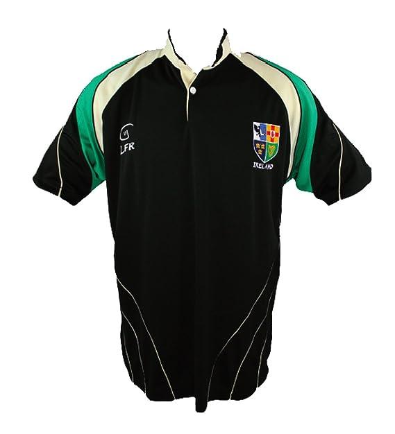 Irlanda 4 Provincias Transpirable Camiseta De Rugby: Amazon.es ...