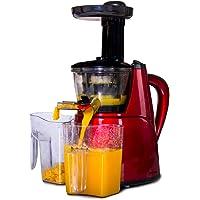 Jocca - Licuadora Prensado en Frio para Verduras y Frutas   Extractor de Zumos y Verduras   Incluye 2 jarras de 1 litro…