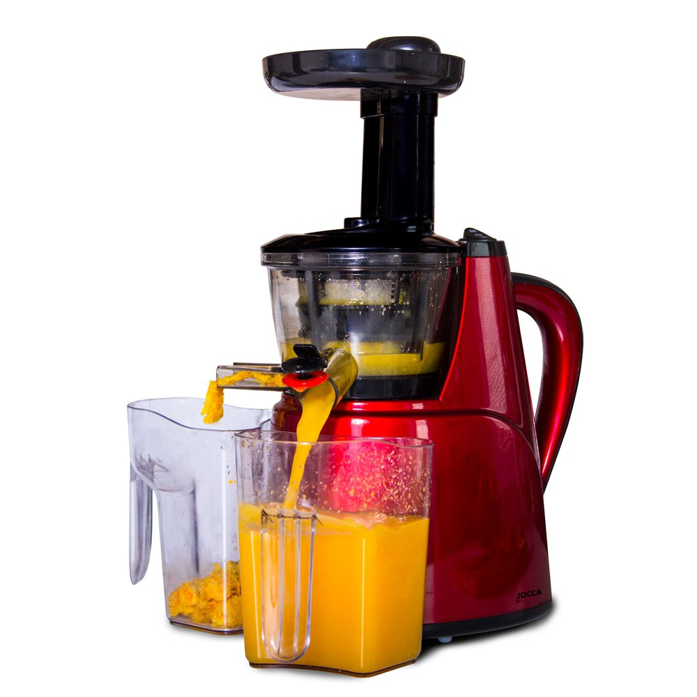JOCCA Masticating Fruit and Vegetable Slow Juicer, 150 W Qualimax International 5069