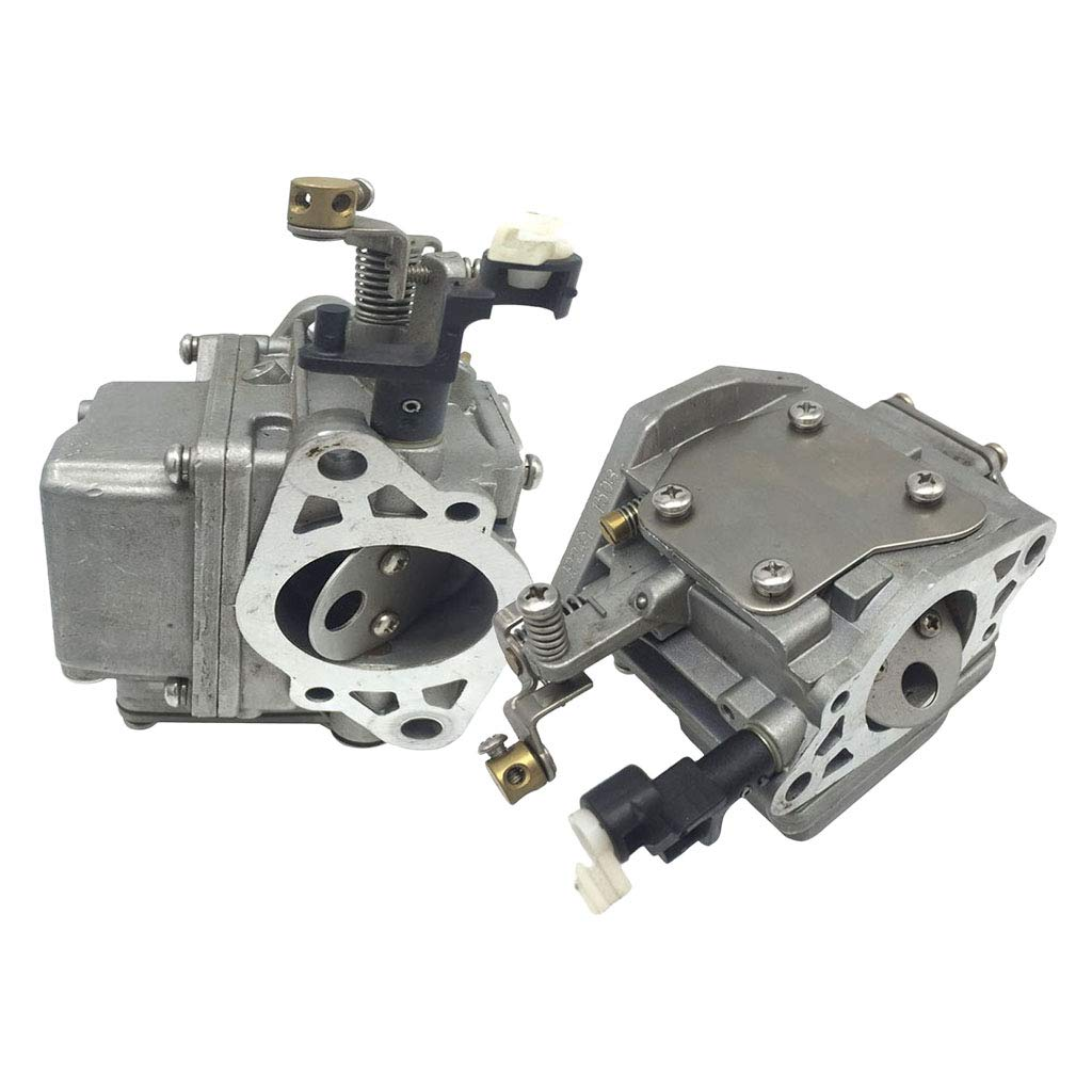 Gazechimp 2 Pedazos Carburador de 2 Tiempos Motor Fueraborda para ...