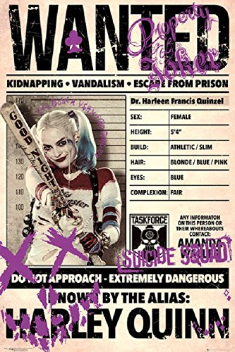 Harley Quinn - Suicide Squad Poster