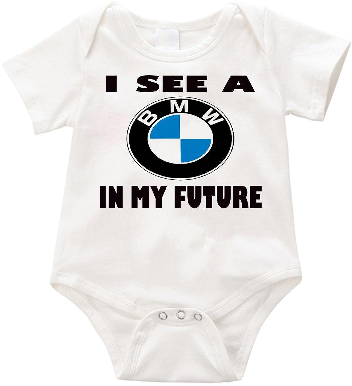 VRW I See a BMW in my Future Onesie Romper Bodysuit
