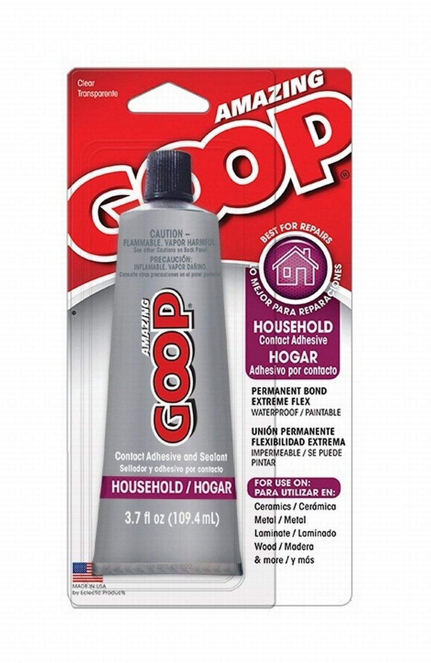 Amazing GOOP 130012 Household Adhesive - 3.7 fl. oz. ECLECTIC PRODUCTS INC