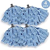 O-Cedar Microfiber Cloth Mop Refill (Pack of 4)