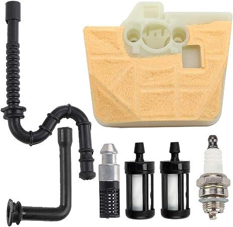 Amazon.com: Filtro de aire limpiador para Stihl 034 036 ...