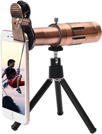Kit de lente de cámara, Universal teléfono móvil teleobjetivo ...