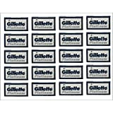Gillette Platinum 100 Double Edge Razor Blades Russian Razor Blades Shaving Blades