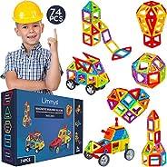 Limmys Bloques de construcción magnéticos Serie única de Viajes Juguetes de construcción para niños y niñas -