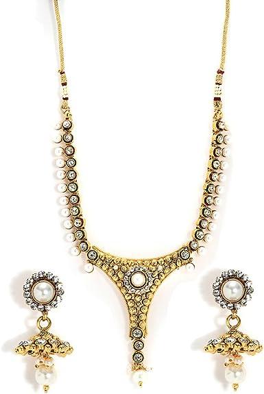 Amazon Com Bindhani Women S Bollywood Style Jewelry Designer