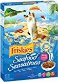 Purina Pet Care Friskies Dry Cat Seafood Sensations, 16.2-Ounce (Pack of 12), My Pet Supplies