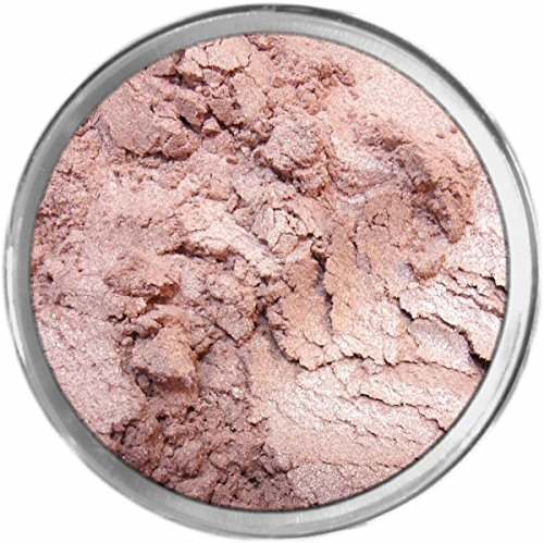 Glee Loose Powder Mineral Shimmer Multi Use Eyes Face Color Makeup Bare Earth Pigment Minerals Make Up Cosmetics By MAD Minerals Cruelty Free - 10 Gram Sized Sifter Jar (Glee Face Color)