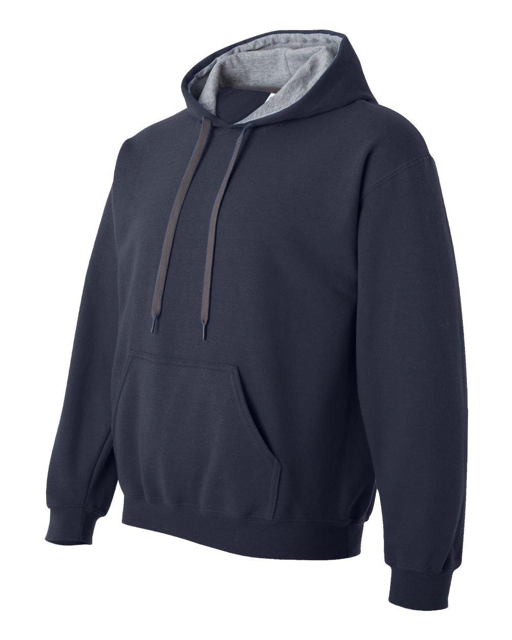 Gildan Gildan Gildan Heavy Blend Contrast Herren Kapuzenpullover   Hoodie   Kapuzensweater B00DGEZLN8 Kapuzenpullover Wartungsfähigkeit 593726