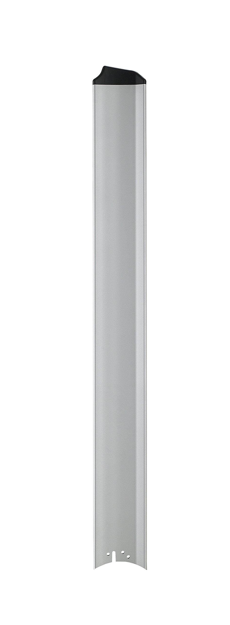 Fanimation B7997-64SLW Fan Blades, Silver with Black Tip