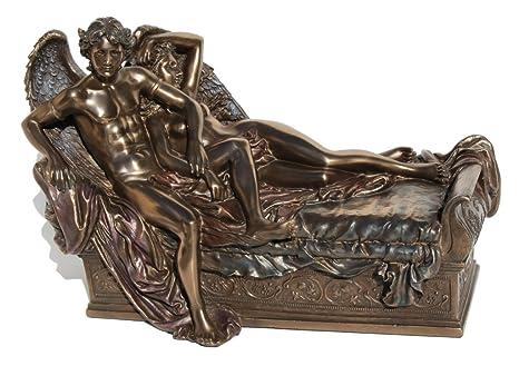 Amazon.com: Estatua veronesa de bronce fundido en frío para ...