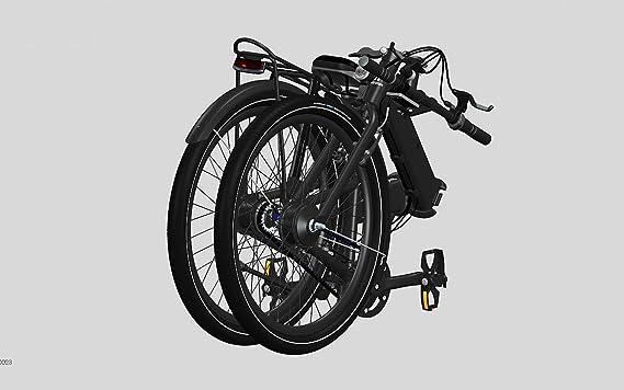 Bicicleta eléctrica plegable Quipplan - q26 F08 city B: Amazon.es: Deportes y aire libre